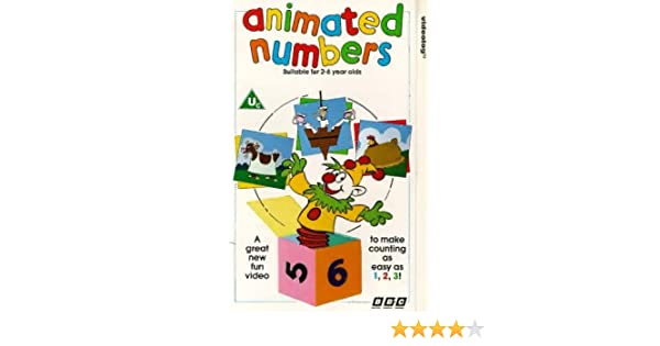 Animated Numbers [VHS]: Playdays: Amazon co uk: Video