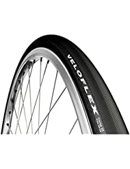 Veloflex Corsa - Cubierta para bicicleta ligera, tamaño: 700 x 25 C, color negro