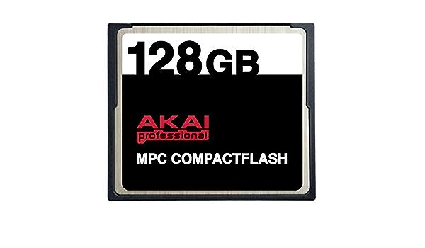 128 Gb Akai Mpc Compactflash Cf Speicherkarte Für Mpc500 Mpc1000 Mpc2500 Und Mpc5000 Computer Zubehör