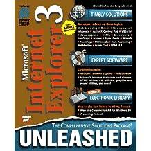 Microsoft Internet Explorer 3 Unleashed, w. CD-ROM