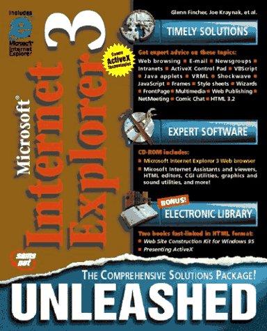 Internet Explorer 3 Unleashed
