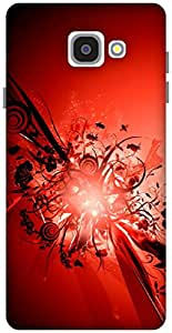 The Racoon Lean Red hard plastic printed back case / cover for Samsung Galaxy A7(2016)