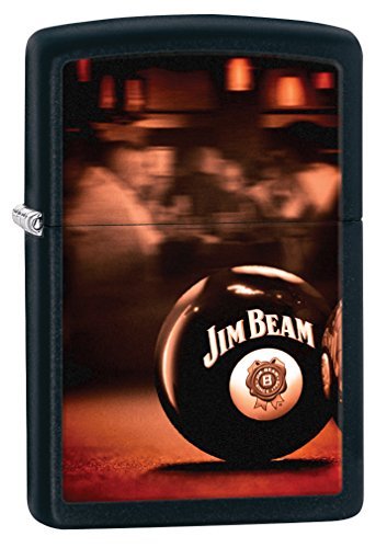 zippo-jim-beam-ball-pastilla-de-encendido-para-acampada-color-negro-mate