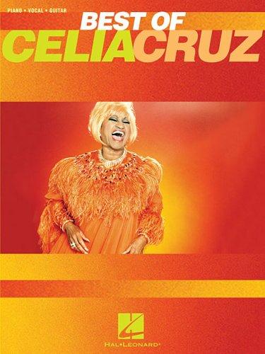 best-of-celia-cruz-piano-vocal-guitar-artist-songbook