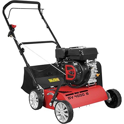 GÜDE Benzin Vertikutierer GV 4000 B mit 4-Takt Motor und 5,2 PS