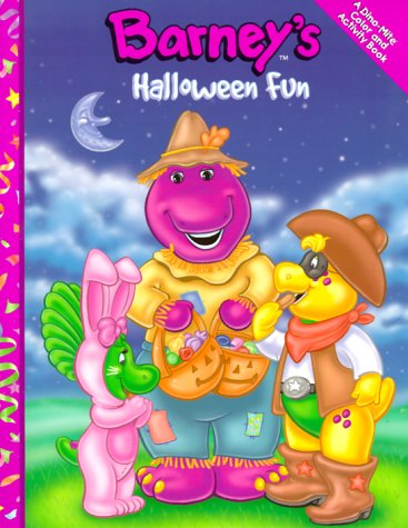 Barney's Halloween Fun (Dino-Mite Color and Activity Books)