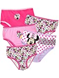 Disney - Culotte Pack de Cinq - Minnie Mouse - Fille - Multicolore - 3-4 Ans