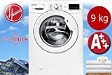 Hoover Link autonome Belastung Bevor 9kg 1400tr/min A + + + Weiß Waschmaschine–Waschmaschinen (autonome, bevor Belastung, weiß, rechts, LCD, Edelstahl)