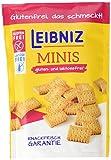 Leibniz Minis Gluten- und Laktosefrei,  8er Pack - Mini-Kekse in der Großpackung - Keks ohne Gluten und...