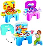 alles-meine.de GmbH Werkzeugbank - Werkzeugkoffer & Zubehör  - aufklappbarer Koffer / Trittschemel / Kindersitz - Schrauben - Hammer / Nägel - Zange - Säge - Kinderwerkzeug - ..