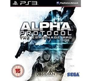 SEGA Alpha Protocol [PS3] (import anglais) + Câble HDMI mâle / HMDI mâle - 2 m (MC380-2M) (RPG - Jeux de rôle pack bundle)