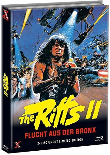 The Riffs 2 - Flucht aus der Bronx - Mediabook Cover C - Limited Edition (+ DVD) [Blu-ray]
