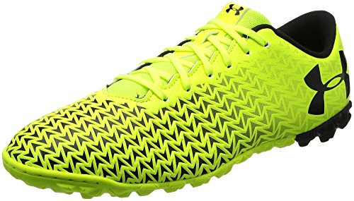 Under Armour Herren UA CF Force 3.0 TF Fußballschuhe, Gelb (High-Vis Yellow), 44.5 EU