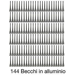 Cose di Donna Set Becchi d'Oca Cicogna in alluminio, Pacco da 24 pezzi 1 spesavip
