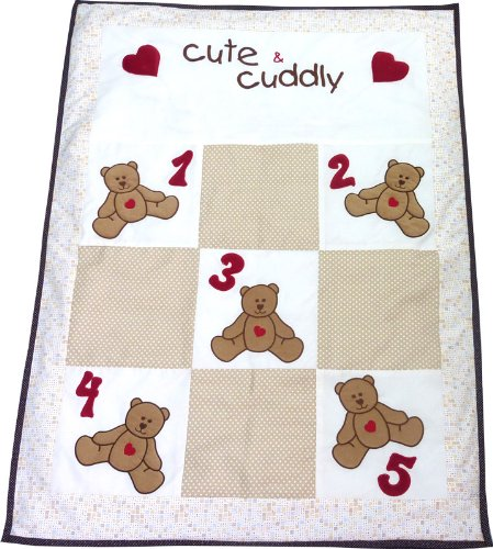 Little Pipal Cute And Cuddly Baby Quilt