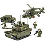 Sluban Building And Construction Blocks M38 B0309 Amphibious On Rush Building Block Construction Set (683 Piece)