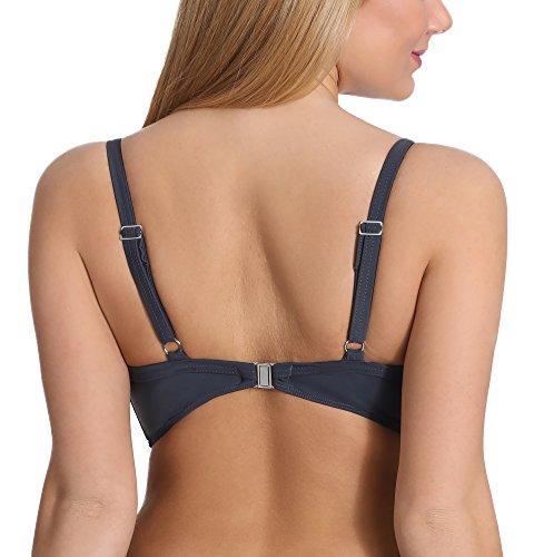Merry Style Damen Bikini Oberteil mit Bügel B113 Graphite(9154)