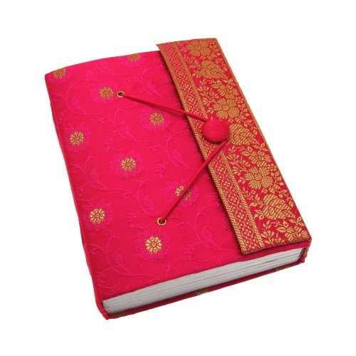 fair-trade-tagebuch-sari-gross-135-x-180-mm-cerise
