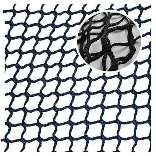 Netz Balkon Katze,Sicherheitsnetz Schwarz Netz Kinder Fenster Schutznetz Seilnetz für Golf Katzen-Schutznetz Katzen Tor Nylon Mesh Backstop Universal Netze Badminton Absturzsicherung Treppennetz