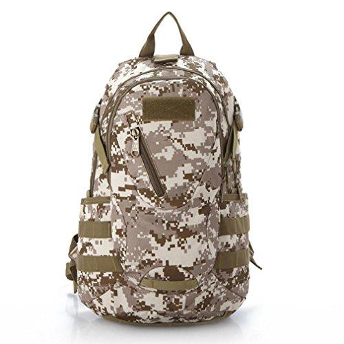 F@20 litri outdoor trekking nylon impermeabile borsa Camo tactical spalla borse, assalto tattico fotografia Campeggio cavallo di Pack, Digital Camo, borse per computer nero , jungle number desert