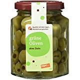 Tegut Grüne Oliven ohne Stein, 110 g