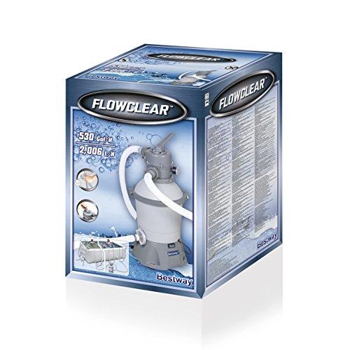 Bestway Flowclear SandFilterpumpe, 2.006 l/h - 9