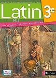 Latin 3e : Programme 2012