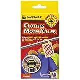 PESTSHIELD ropa polillas mata insectos para colgar de lavanda aromática