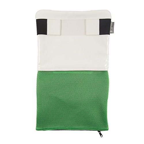 BitBag BI 2.2.1 Custodia Sleeve Borsa Morbida per PC Portatile Accessorio Laptop MacBook/MacBook Pro/MacBook Air e Netbooks, Bianco Verde/Nero