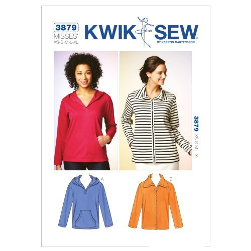 Kwik Sew K3879 Top and Cardigan Sewing Pattern, Size XS-S-M-L-XL by KWIK-SEW PATTERNS
