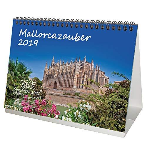 Mallorcazauber · DIN A5 · Premium Tischkalender/Kalender 2019 · Mallorca · Urlaub · Spanien · Meer · Edition Seelenzauber