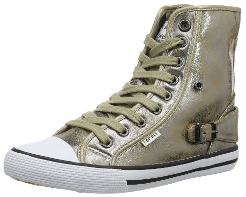 ESPRIT Benny Quartz Hi 024EKKW030 Mädchen Sneaker Gold (gold 712)