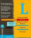 Pop-up Fachwörterbuch Medizin. Englisch. Version 3.0. CD- ROM für Windows 95/98/ NT 4.0