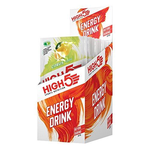 High5 High5 Bebida Energética Hidratante - Bebida Refrescante Con Mezcla Vegana De Carbohidratos Y Electrolitos - Cítricos - 12 Bolsitas Energéticas De 47 Gramos 640 g