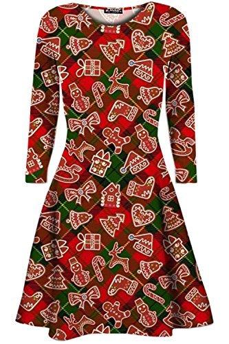 Be Jealous Damen Weihnachtsgeschenk Candy Kittel Weihnachten Ausgestellt