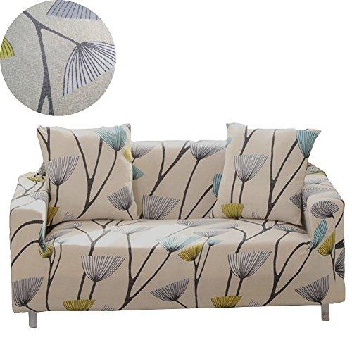 Newsbenessere.com 51QTV-5fglL Enzer Copri divano in tessuto elastico, motivo floreale con uccelli, protezione da animali per poltrona, divano