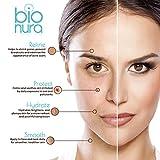 Bionura Hyaluronsäure Anti-Aging Gesichtsserum mit organischen Inhaltsstoffen, Vitamin C/E und Grüner Tee für alle Hauttypen, 1er Pack (1 x 60 ml) - 4