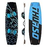 THURSO SURF - Tablero de Kiteboard (140 x 42, Color Negro y Azul)