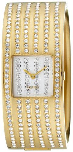 Esprit - 4418352 - Ladies Watch - Analogue Quartz - Stone Set - Yellow Steel Strap