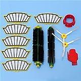 Yongse 12pcs Vacuum Cleaner Kit de accesorios Filtros y cepillos para la serie 500 de iRobot Roomba