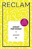 Monat für Monat: Gedichte. Jubiläumsausgabe (Jubiläumsausgabe UB) -