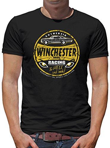 TLM Winchester Bros Racing T-Shirt Herren L Schwarz