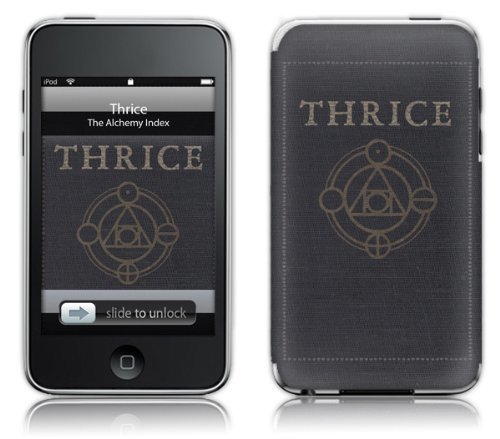 MusicSkins Thrice - Alchemy für Apple iPod Touch (2. und 3. Generation)