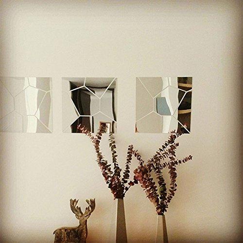 patrn de geometra d pegatinas de pared espejo acrlico espejos