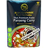 Blue Elephant Thai Premium Paneang Curry Paste, 70g [Pack Of 3, Culinary Paste, No MSG Added]