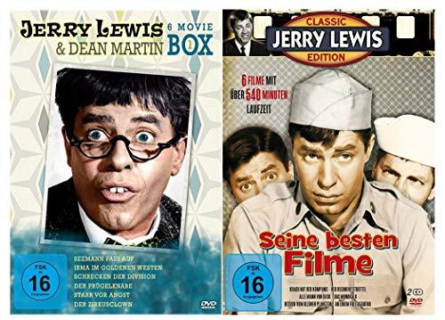 Jerry Lewis Box Fan Collection ( 12 Filme auf 8 DVDs )