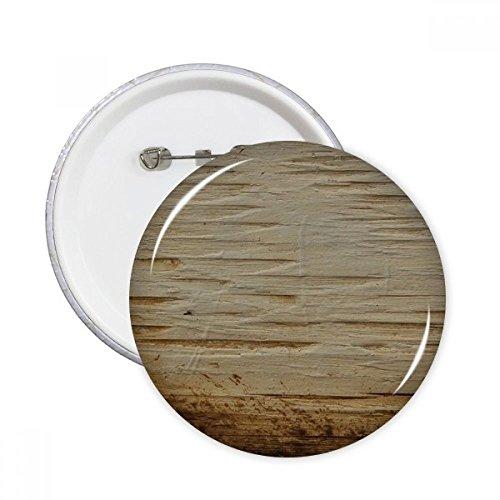 diythinker Rost Rusty Rauen Eisen Textur VINTAGE rund Pins Badge Button Kleidung Dekoration Geschenk 5X L mehrfarbig (Rusty-pin)