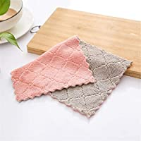 BlackEdragon All-purpose Microfiber Cleaning Cloths Wiping Highly Absorbent & Lint Free Dusting Rags for Home and Kitchen