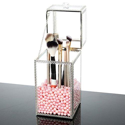 Contenitori cosmetici scatole per cosmetici mensole per cosmetici supporto per organizer per gioielli e trucco rotante scatola di immagazzinaggio per cosmetici multifunzionale regolabile a 360 gradi con grande capacità per scatole contenitori per cosmetici acrilici ( Color : A )