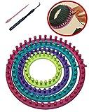 knitting needle set cirular 6pcs Tricotín Circular métier de Tejer en ABS 14cm 19cm 24cm 29cm Conjunto de Telar calcetín Bufanda Sombrero Tejer